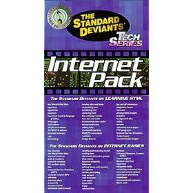The Standard Deviants - Internet Gift Pack (Learning HTML, Internet Basics) [VHS]
