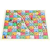 Kids Toys And Games Ludo Snakes & Ladders Board Game