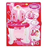 Glamour Mirror and Dressing Table Playset