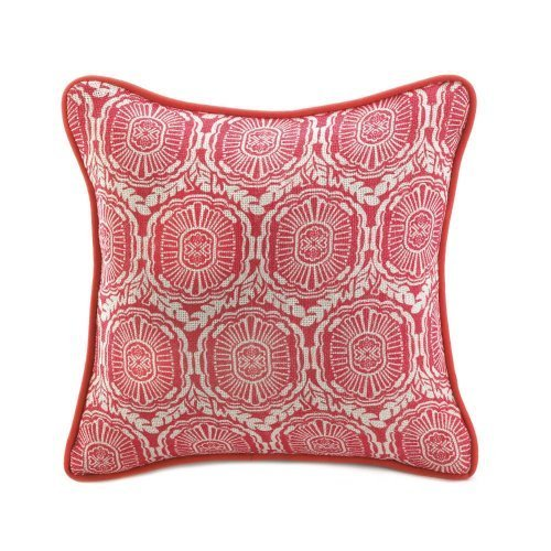 Home Decor Jute Red Pillow