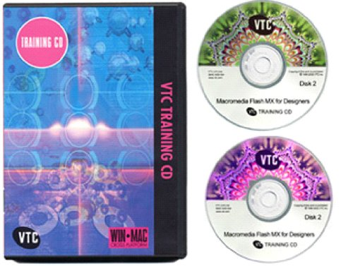 Macromedia Flash MX for Designers Training CD