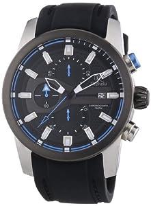 Orphelia Herren-Armbanduhr XL Chronograph Quarz Silikon OR32690944