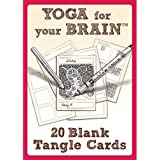Yoga for Your Brain 20 Blank Tangle Cards
