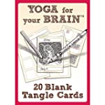 Yoga for Your Brain: 20 Blank Tangle...