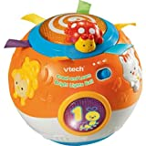 Worthy VTech Crawl and Learn Bright Lights Ball with accompanying Set of 10 KiddiSafe Door Stoppers