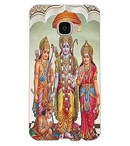 ColourCraft Lord Ram Laxaman Janaki and Hanuman Design Back Case Cover for SAMSUNG GALAXY C5