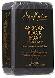 Shea Moisture African Black Soap Bar…