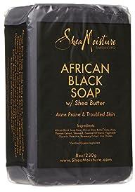 Shea Moisture African Black Soap Bar…