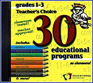 30 Educational Programs Grades 1-3 (Jewel Case)