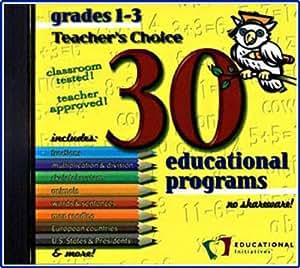 30 Educational Programs Grades 1-3 (Jewel Case)