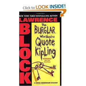 Burglar Who Liked to Quote Kipling, The (Bernie Rhodenbarr Mysteries)