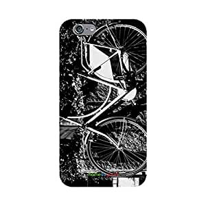 HomeSoGood Vintage Cycle Grey 3D Mobile Case For iPhone 6S (Back Cover)