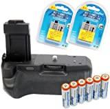 Maximal Power Replacement Battery Grip Combo for Canon Digital Rebel XS, XSI and T1i