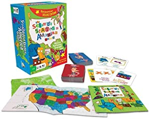 Gamewright The Scrambled States of America Game (5505)