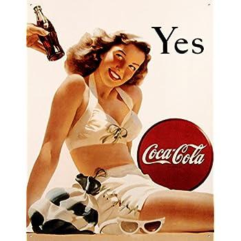 Coca-Cola Tin Sign 13 x 16in