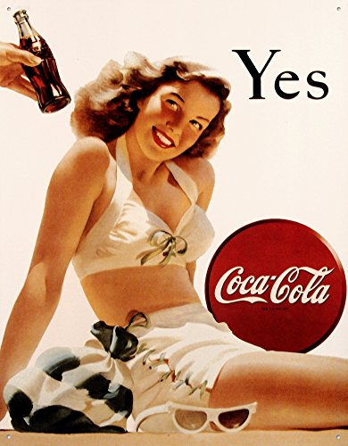 Coca-Cola Tin Sign 13 x 16in 0