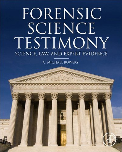 Forensic Testimony: Science, Law And Expert Evidence front-583256