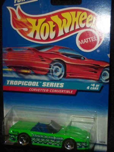 Tropicool Series #4 Corvette Convertible 3 Spoke #696 Mint
