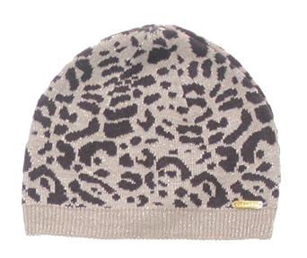 Calvin Klein Hat, Leopard Print Cap (Chocolate)