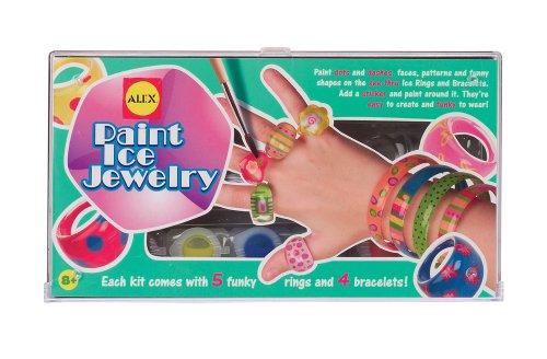 ALEX Toys Do-it-Yourself Wear Paint Ice Jewelry Kit