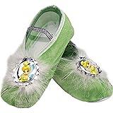 Tinkerbell Ballet Slippers Disney Princess Halloween Costume Accessory Girls O/S