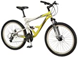 51RSgHru4IL. SL160  Mongoose Status 3.0 Dual Suspension Mountain Bike (26 Inch Wheels)