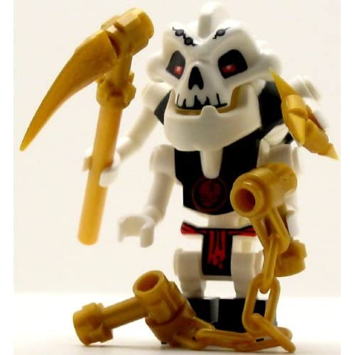 Amazon.com: LEGO Ninjago Minifigure Samukai Skeleton (2011)