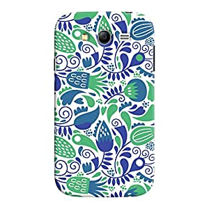 ColourCrust Samsung Galaxy Grand Neo / NEO GT Mobile Phone Back Cover With Floral Pattern Style - Durable Matte Finish Hard Plastic Slim Case