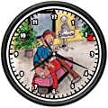 CHIROPRACTOR Wall Clock chiropractic office gift by ZANYSIGNS