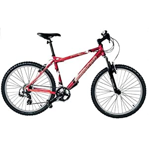 Mens MuddyFox Rival 21 Speed Mountain Bike in Red. MANUFACTURERS WARRANTY.
