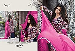 Gangafashions Cotton Fabric Pink Designer Salwar Kameez [GE-6052-Aaina Vol - 2-1]