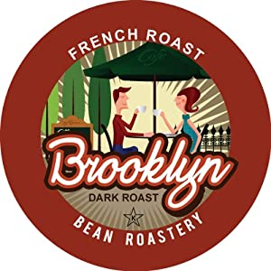 Brooklyn Bean Roastery Coffee, Single Serve Cup for Keurig K-Cup Brewers, 36-Count