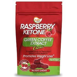 Raspberry Ketone with Green Coffee Extract 90 Soft Chews