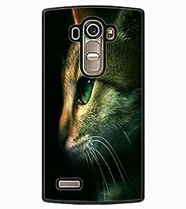 ColourCraft Cute Cat Face Design Back Case Cover for LG G4