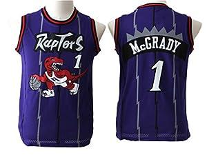 Youth Tracy McGrady Purple Basketball Jersey