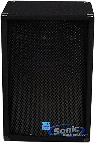 Discover Bargain GEMINI GSM-1260 12 400 Watt DJ Stage PA Loud-Speaker, with 3-Way Passive Crossover...