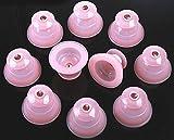 シリコンカッピング 10個セット シリコン製吸い玉 簡易日本語取説 水洗い可能 いつでも清潔に使用できます
