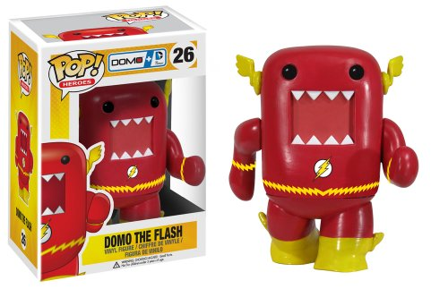Pop Heroes Vinyl Figure: Domo The Flash  ドーモくん フラッシュ フィギュア アメリカ輸入品