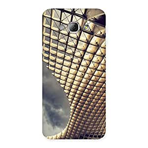 Stylish Art Universe Back Case Cover for Galaxy A8