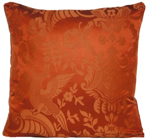 Sofa Cushions Pillows Cover Nina Campbell Textile Fabric Toile Damask Red Woven