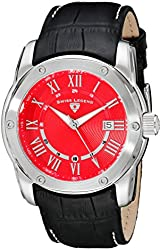 Swiss Legend Men's 10005Q-05 Traveler Analog Display Swiss Quartz Black Watch