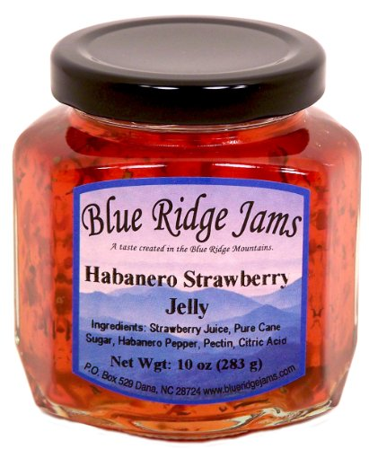 Habanero Strawberry Pepper Jelly (10 oz Jar)