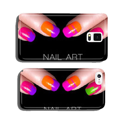 colorful-fluor-nail-polish-art-nail-with-example-text-cell-phone-cover-case-iphone6