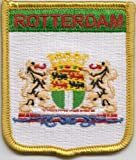 Rotterdam Netherlands Flag Embroidered Patch Badge