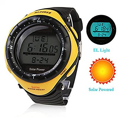 Watch Magasin Unisex Solar Powered Multi-Functional Digital Wrist Watches Men'S Sport Watches from Watch Magasin