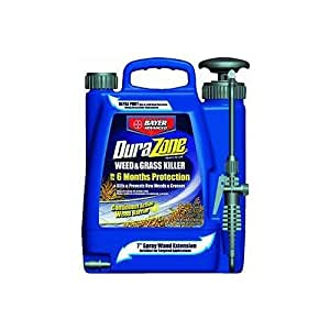 Bayer Advanced 704370 DuraZone Weed and Grass Killer Ready-To-Use, 1.3-Gallon