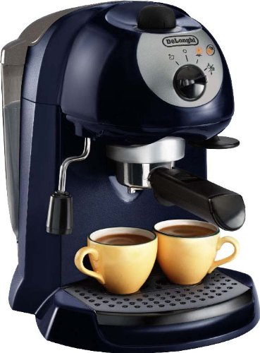 machine caf crasofur delonghi ec190cd ex c blue cafeti re filtre solo pompe caf moulu 1 l 1100 w. Black Bedroom Furniture Sets. Home Design Ideas