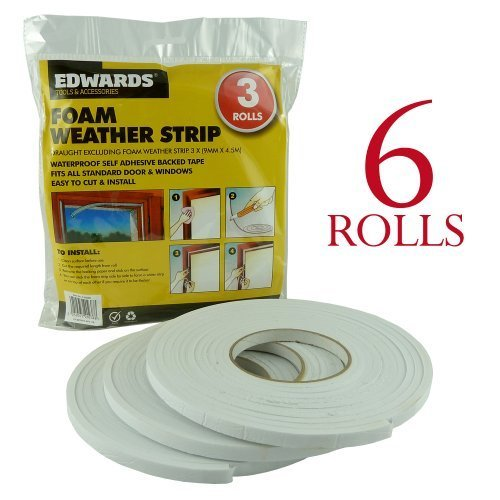 bid-buy-direct-lot-de-6-rouleaux-de-bande-detancheite-en-mousse-autoadhesive