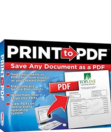 Print to PDF (Jewel Case)