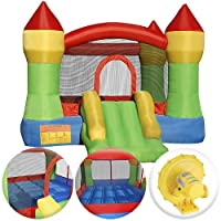Cloud 9 Mighty Bounce House - Inflatable Bouncing Jump and Slide with Air Blower - Castle Theme from Cloud 9 Bouncers